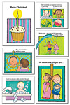 Splash! Greeting Card Set (set of 6 cards)
