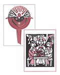 Evangelical Lutheran Worship Notecards, Church Year/Holy Communion: Quantity per package: 12