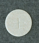 Communion Wafers, White Flour, 1-1/8 inch in diameter (box of 1000)