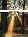 The Word in Season: Large Print