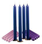 Traditional Advent Candles (Beeswax)