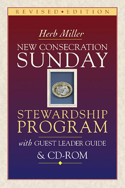 New Consecration Sunday Stewardship Program with Guest Leader Book