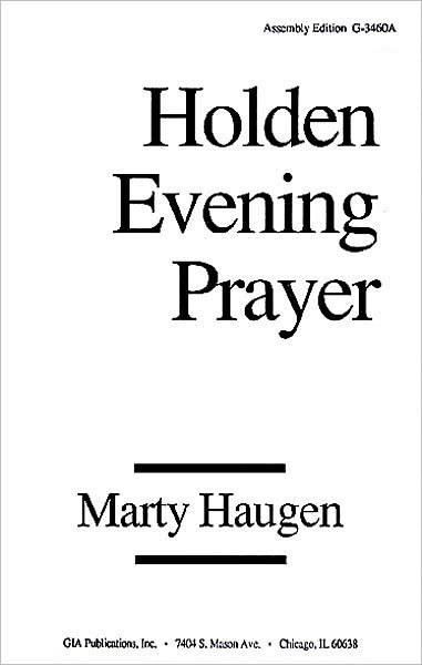 Holden Evening Prayer: Pew Edition