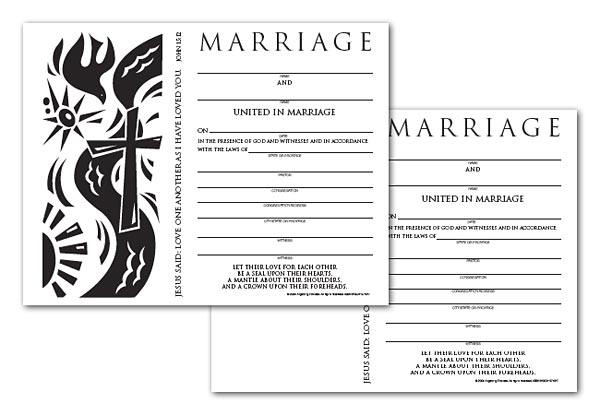 Certificate Download, Marriage  (English)