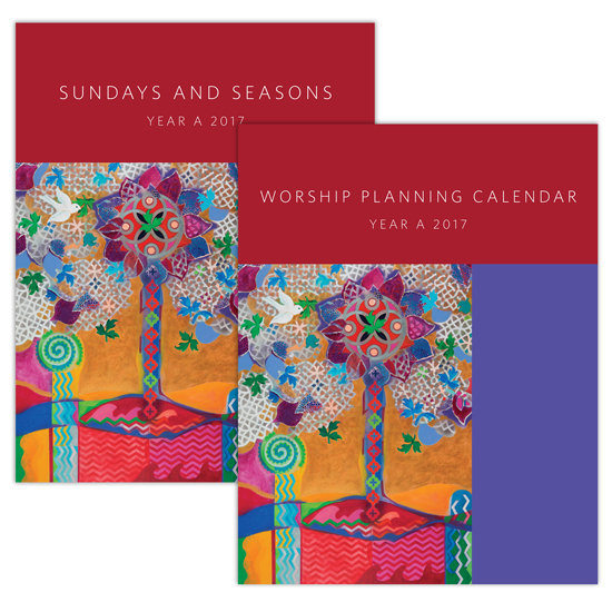 Planning Guide and Calendar Combo Pack, Year A 2017