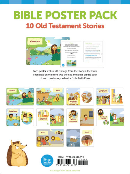 Frolic Bible Story Posters: Old Testament