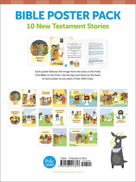Frolic Bible Story Posters: New Testament