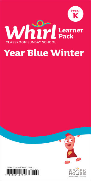 Whirl Classroom Year Blue Winter Grades PreK-K Learner Pack