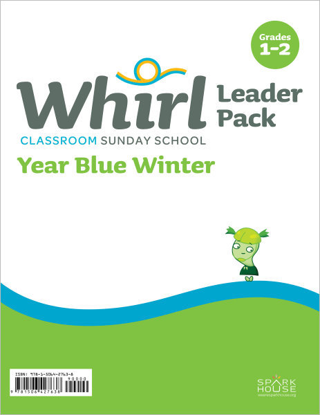 Whirl Classroom Year Blue Winter Grades 1-2 Leader Pack