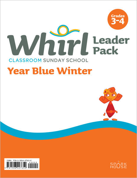 Whirl Classroom Year Blue Winter Grades 3-4 Leader Pack
