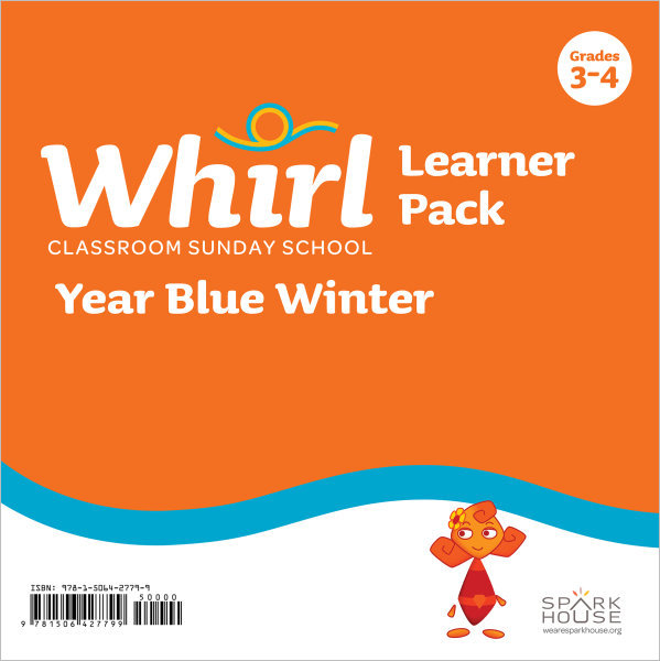 Whirl Classroom Year Blue Winter Grades 3-4 Learner Pack