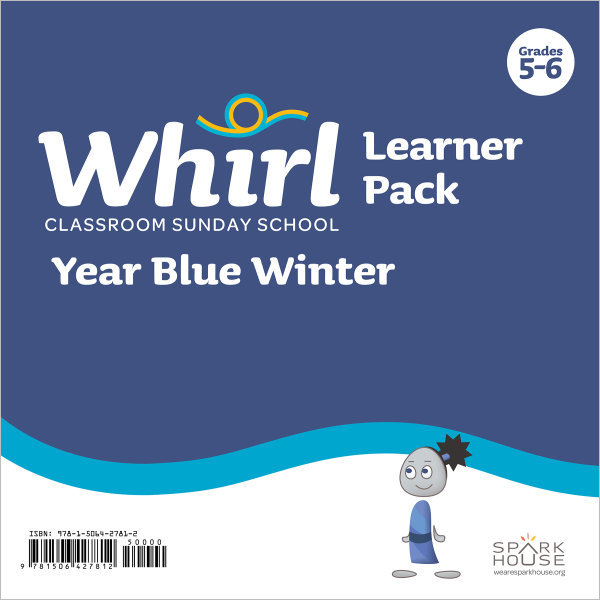 Whirl Classroom Year Blue Winter Grades 5-6 Learner Pack