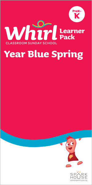 Whirl Classroom Year Blue Spring Grades PreK-K Learner Pack