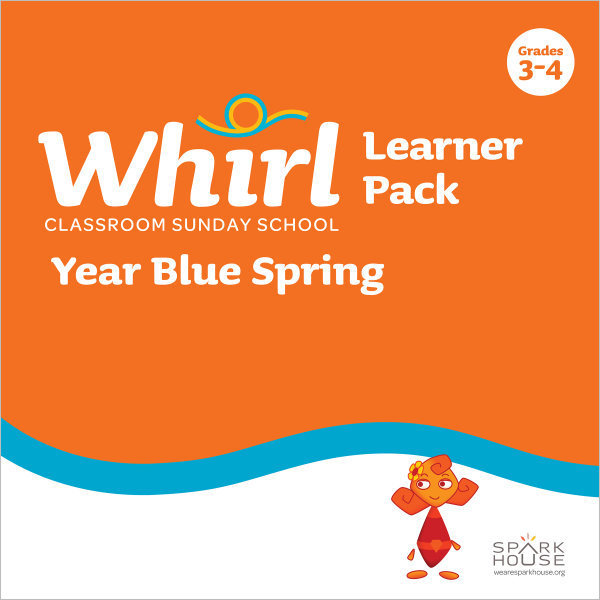 Whirl Classroom Year Blue Spring Grades 3-4 Learner Pack