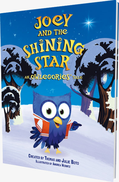 Joey and the Shining Star: An Owlegories Tale