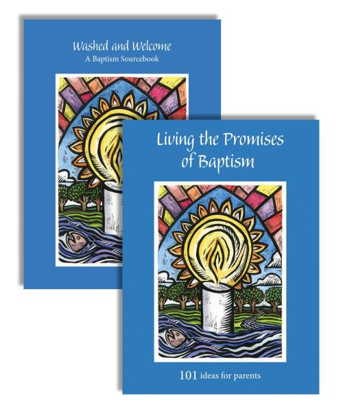 Washed and Welcome Sourcebook & Living the Promises Bundle