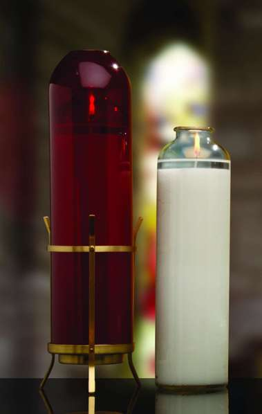 Candle Sacralite® 14-Day Glass Bottle Style Sanctuary Light CTN 9