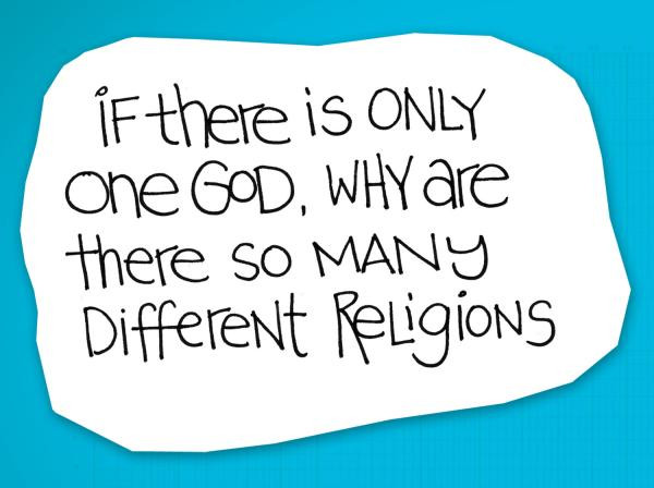 re:form Digital Lesson | If there is only one God, why are there so many religions?
