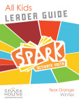 Spark All Kids / Year Orange / Winter / Grades K-5 / Leader Guide