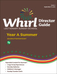 Whirl Lectionary / Year A / Summer 2020 / Director Guide