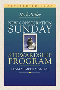 New Consecration Sunday Stewardship Program Team Member Manual