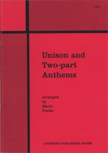 Unison and Two-part Anthems