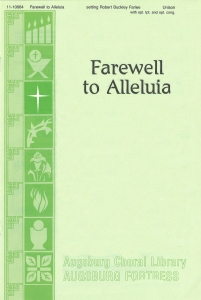 Farewell to Alleluia