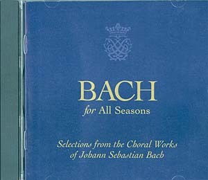 Bach for All Seasons CD