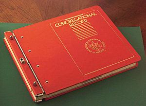 Congregational Record Binder Only