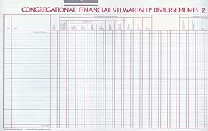 Congregational Financial Stewardship Disbursements 2: Congregational Record