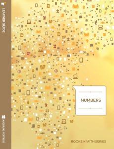 Numbers Learner Session Guide: Books of Faith