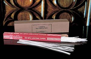 Wax Lighting Tapers: 120/box