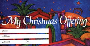 O Holy Child of Bethlehem: Christmas Offering Envelope: Quantity per package: 100