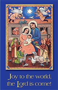 Joy to the World: Christmas Bulletin, Regular Size: Quantity per package: 100