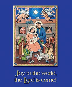 Joy to the World: Christmas Bulletin, Large Size: Quantity per package: 100