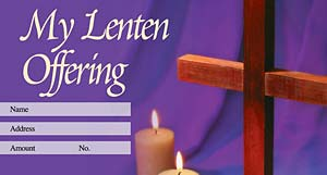 What Wondrous Love is This: Lenten Offering Envelope: Quantity per package: 100