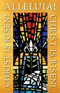 Alleluia! Christ is Risen!: Easter Bulletin, Regular Size: Quantity per package: 100