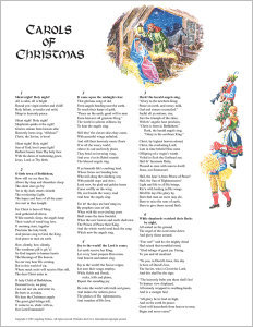 Carols of Christmas: Word Edition