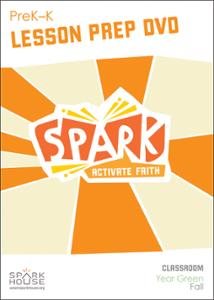 Spark Classroom / Year Green / Fall / PreK-K / Lesson Prep Video DVD