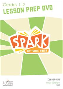 Spark Classroom / Year Green / Fall / Grades 1-2 / Lesson Prep Video DVD