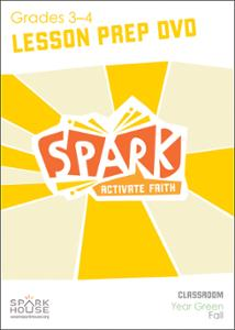 Spark Classroom / Year Green / Fall / Grades 3-4 / Lesson Prep Video DVD