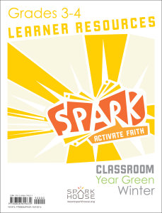 Spark Classroom / Year Green / Winter / Grades 3-4 / Learner Leaflets