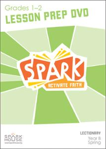 Spark Lectionary / Spring 2021 / Grades 1-2 / Lesson Prep Video DVD