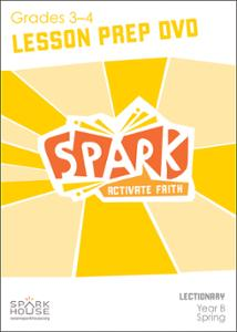 Spark Lectionary / Spring 2021 / Grades 3-4 / Lesson Prep Video DVD