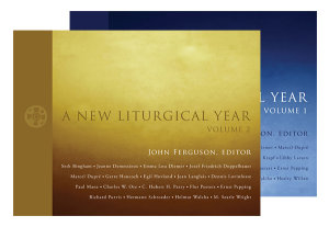 A New Liturgical Year Set