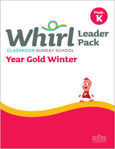 Whirl Classroom / Year Gold / Winter / PreK-K / Leader Pack