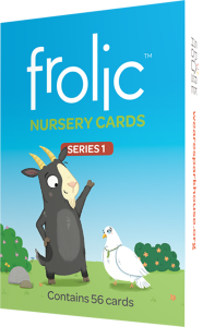 Frolic Nursery Cards Series 1: 56 Cards per deck