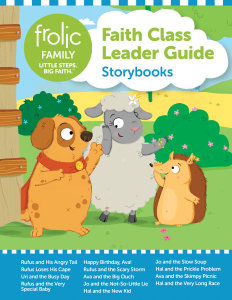 Frolic Family / Storybooks / Birth-Age 3 / Leader Guide