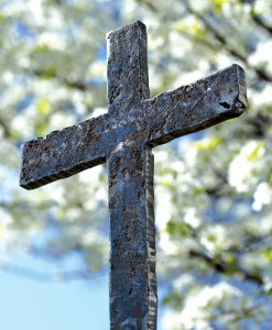 Raised Cross Bulletin, Large Size: Quantity per package: 100