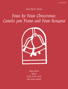 Four by Four Christmas: Carols for Piano and Four Ringers